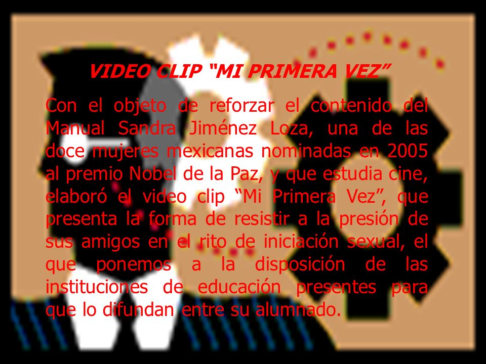 VIDEO CLIP MI PRIMERA VEZ