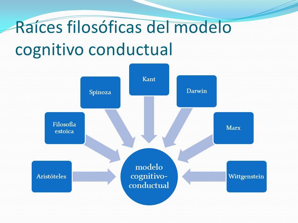 Raíces filosóficas del modelo cognitivo conductual