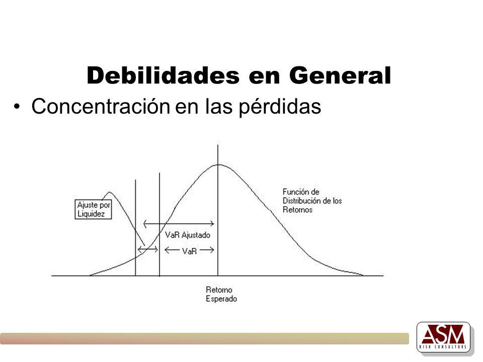 Debilidades en General