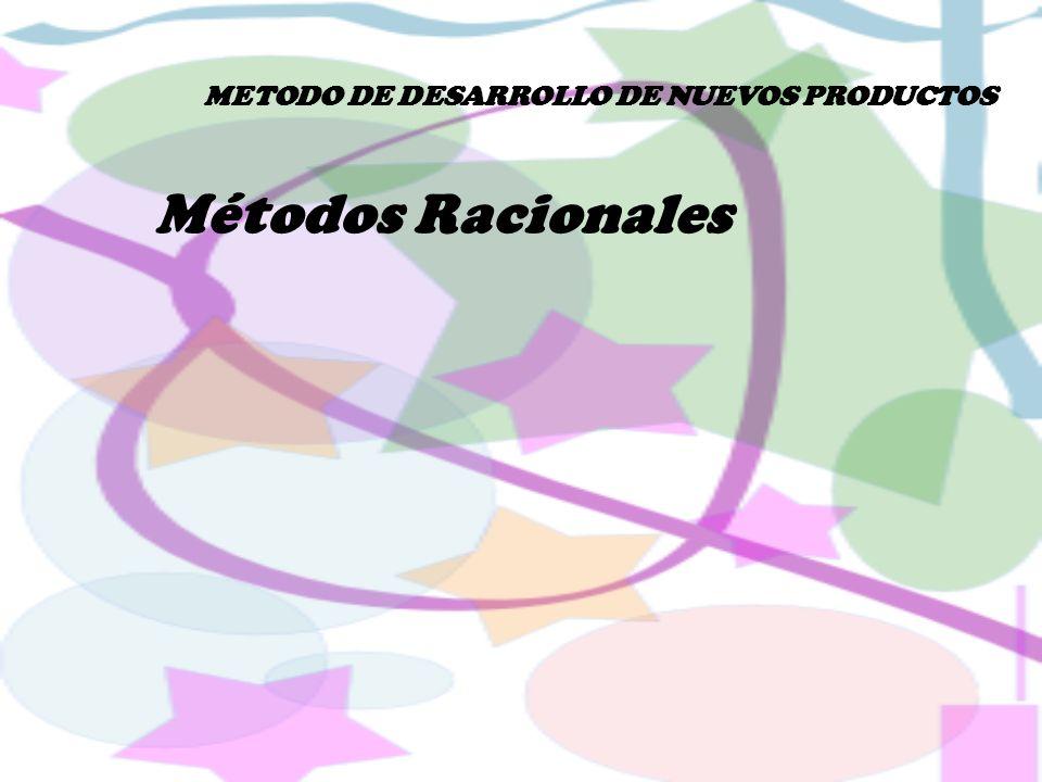 METODO DE DESARROLLO DE NUEVOS PRODUCTOS