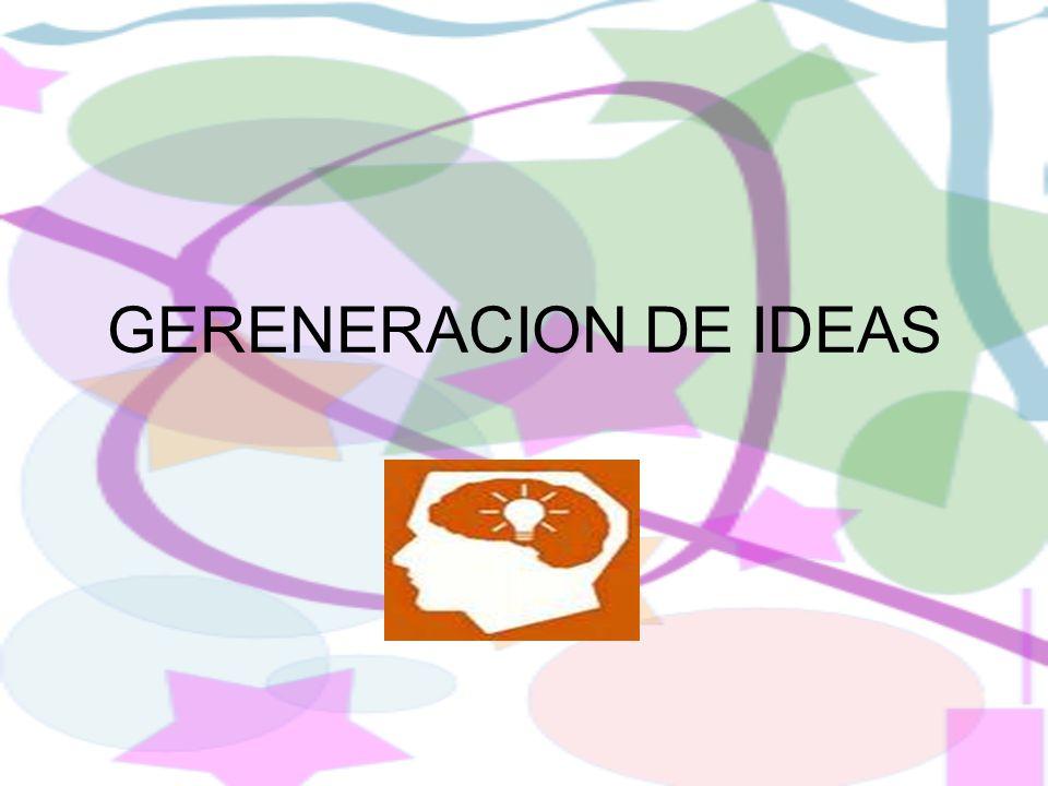 GERENERACION DE IDEAS