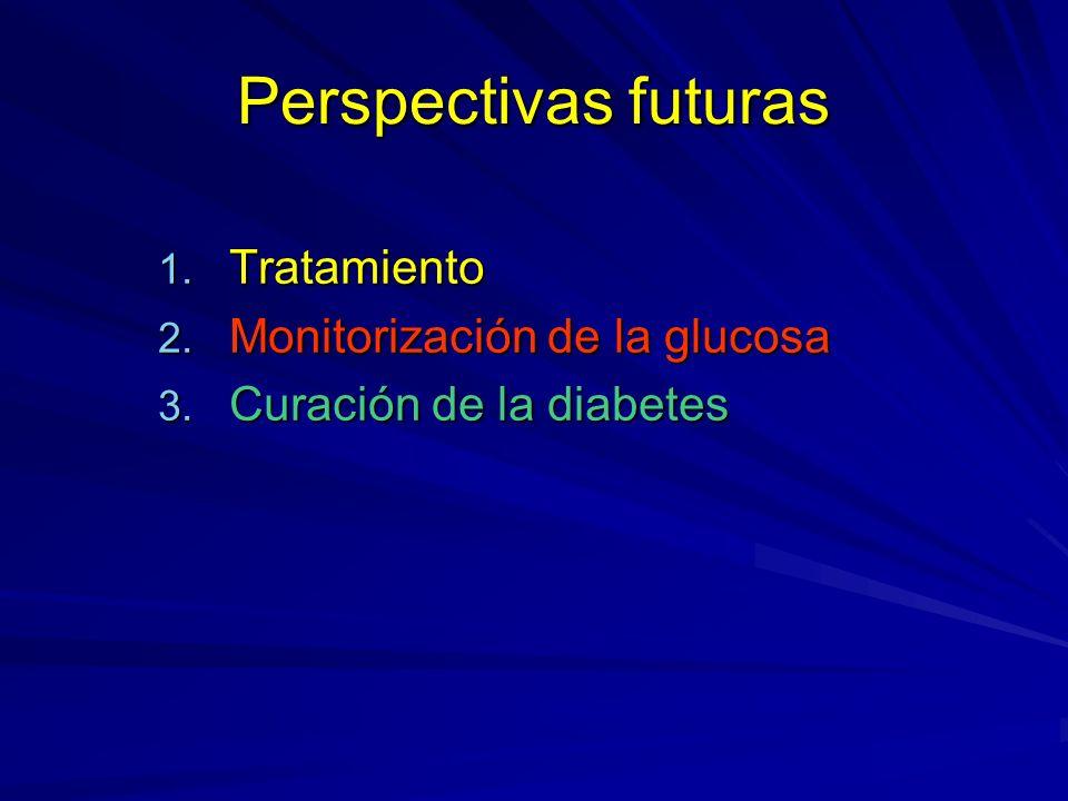 Perspectivas futuras Tratamiento Monitorización de la glucosa
