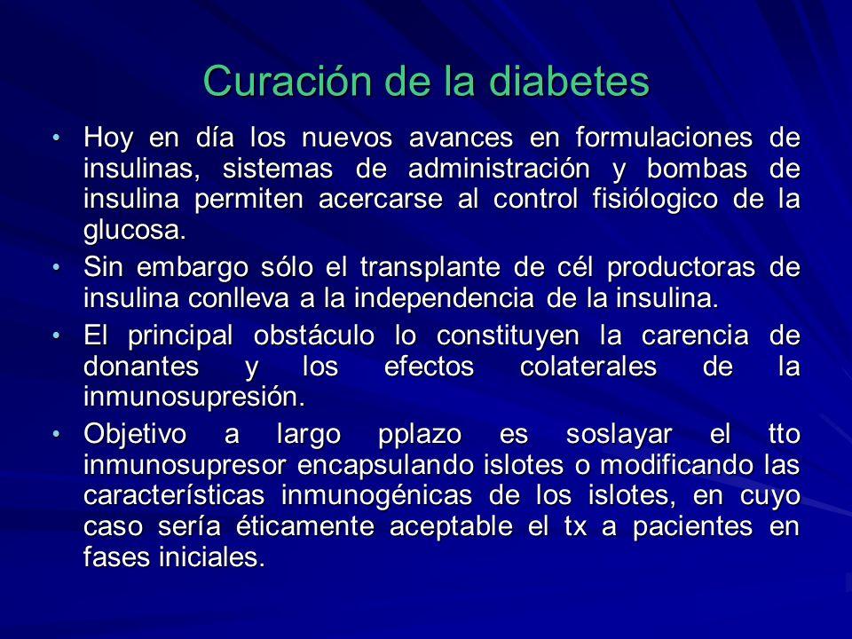 Curación de la diabetes
