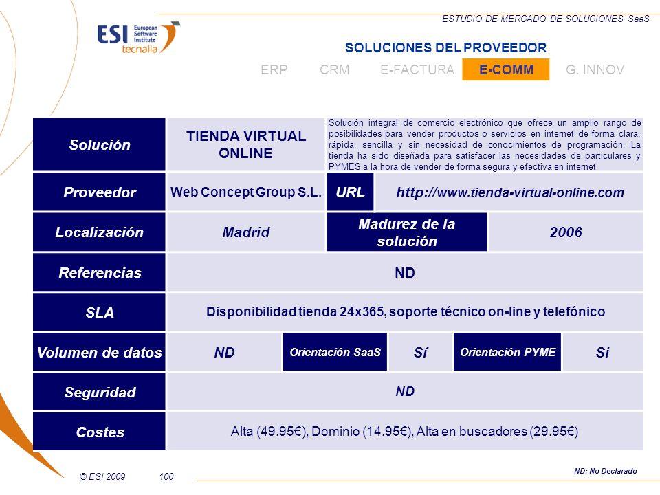 Alta (49.95€), Dominio (14.95€), Alta en buscadores (29.95€)