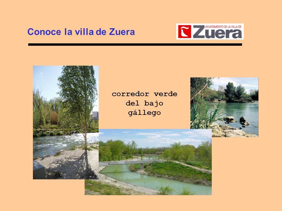 Conoce la villa de Zuera corredor verde del bajo gállego