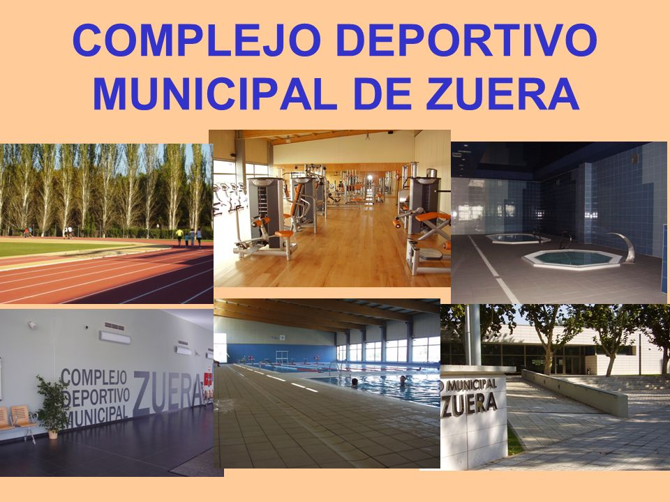 COMPLEJO DEPORTIVO MUNICIPAL DE ZUERA