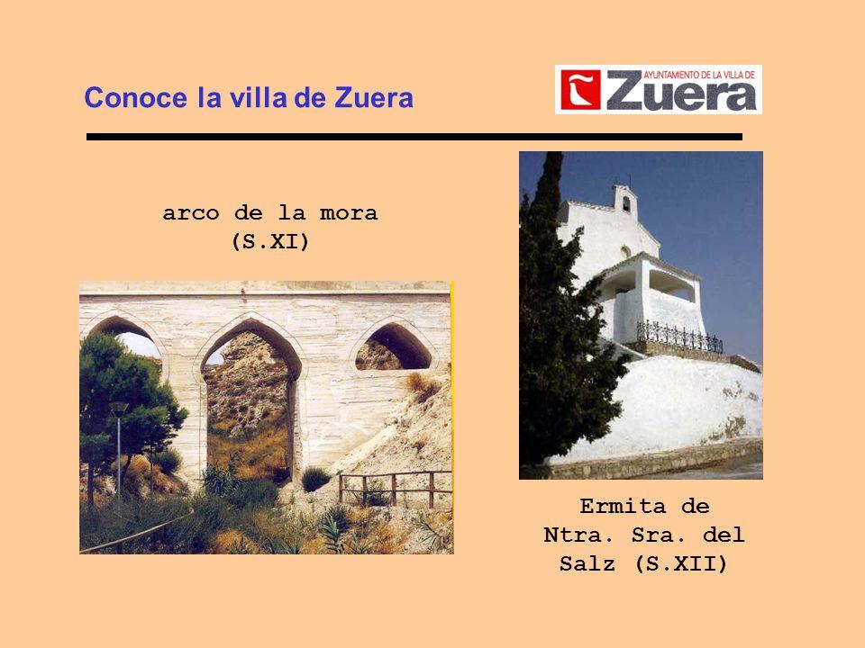 Conoce la villa de Zuera Ermita de Ntra. Sra. del Salz (S.XII)