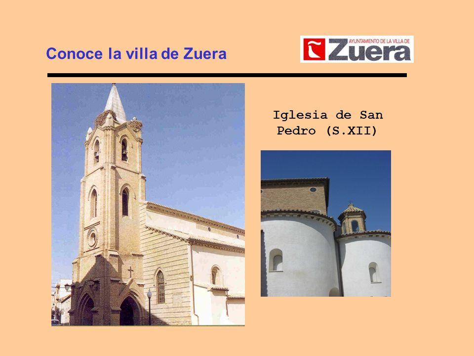 Conoce la villa de Zuera Iglesia de San Pedro (S.XII)