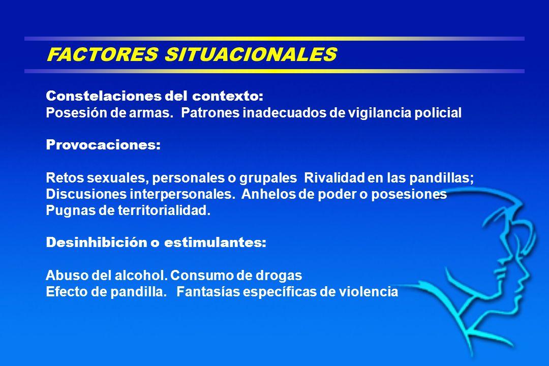FACTORES SITUACIONALES