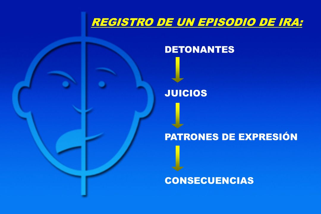 REGISTRO DE UN EPISODIO DE IRA: