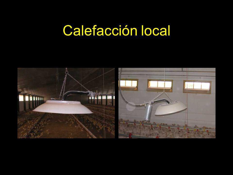 Calefacción local