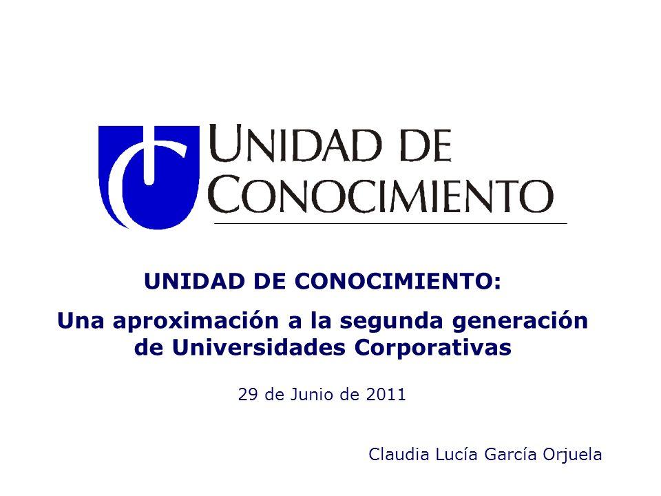 UNIDAD DE CONOCIMIENTO: