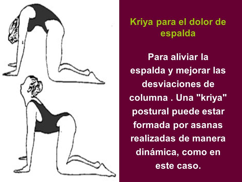 Kriya para el dolor de espalda