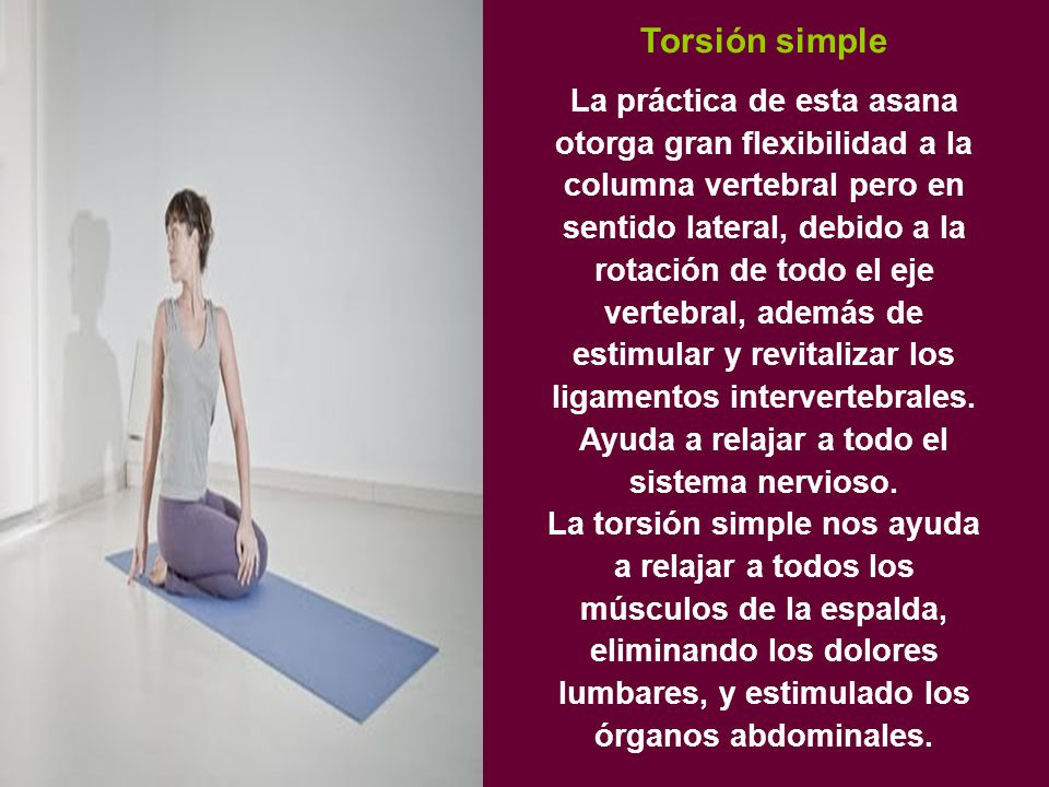 Torsión simple