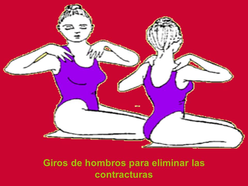 Giros de hombros para eliminar las contracturas