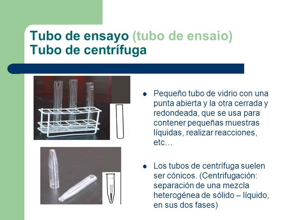 Tubo de ensayo (tubo de ensaio) Tubo de centrífuga
