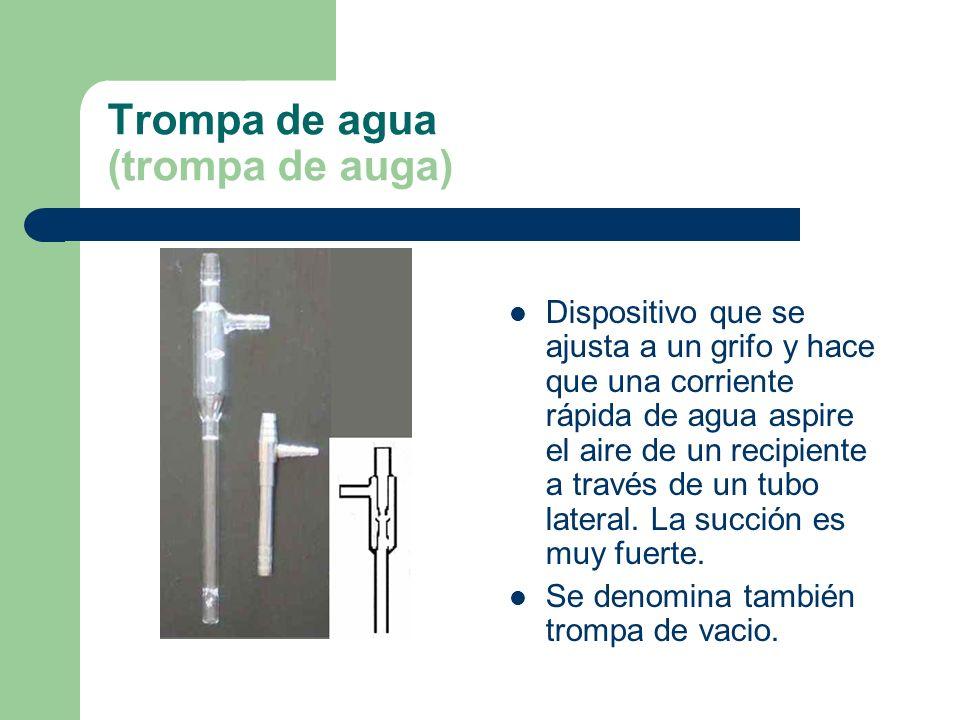 Trompa de agua (trompa de auga)