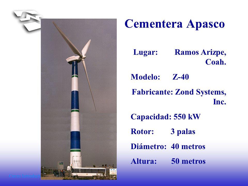 Cementera Apasco Lugar: Ramos Arizpe, Coah. Modelo: Z-40