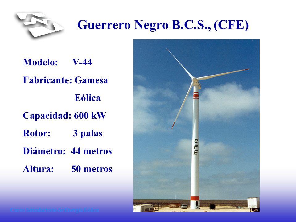 Guerrero Negro B.C.S., (CFE)