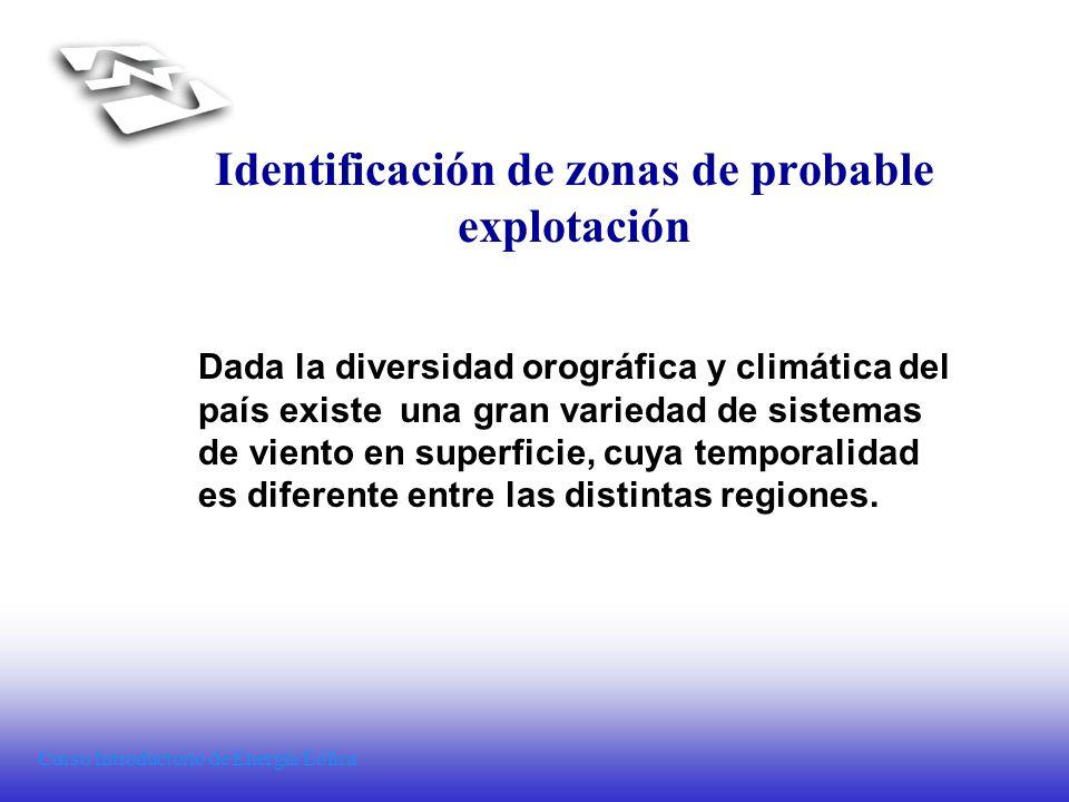 Identificación de zonas de probable explotación