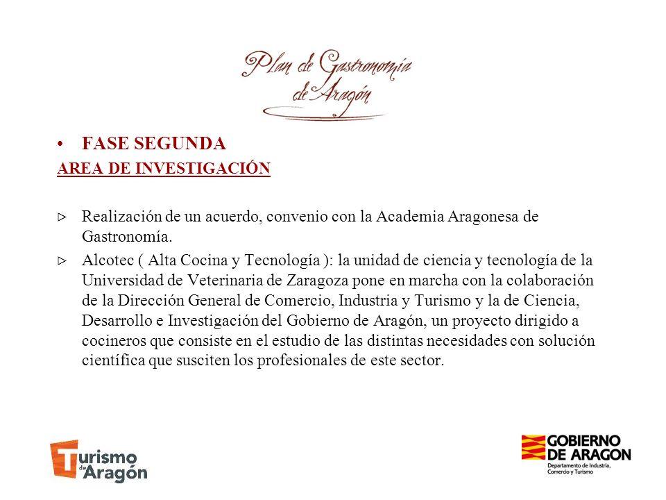 FASE SEGUNDA AREA DE INVESTIGACIÓN