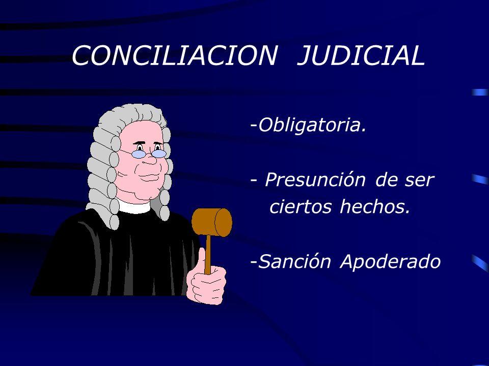 CONCILIACION JUDICIAL