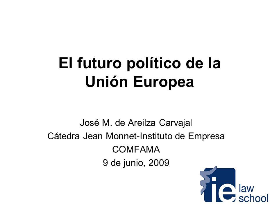 El futuro político de la Unión Europea