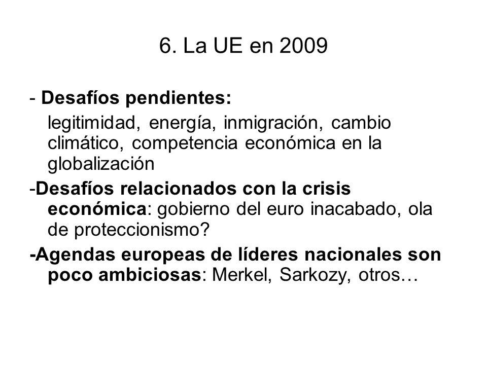6. La UE en 2009