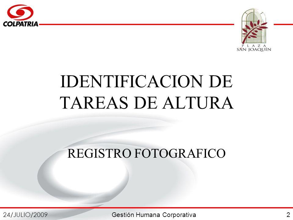 IDENTIFICACION DE TAREAS DE ALTURA