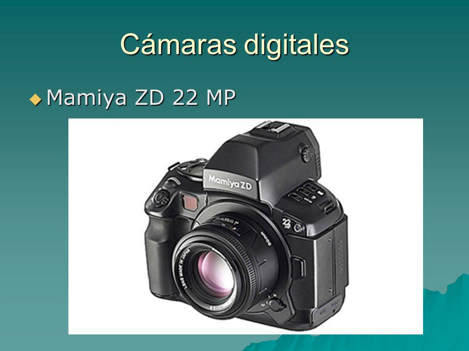 Cámaras digitales Mamiya ZD 22 MP