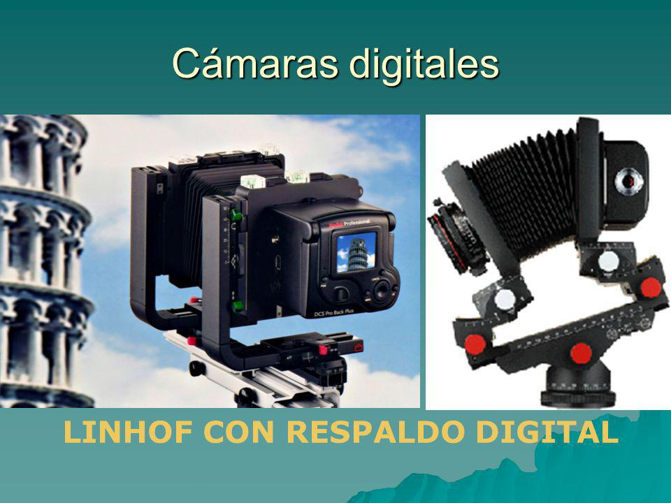Cámaras digitales LINHOF CON RESPALDO DIGITAL