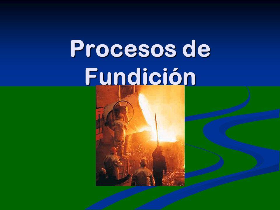 Procesos de Fundición