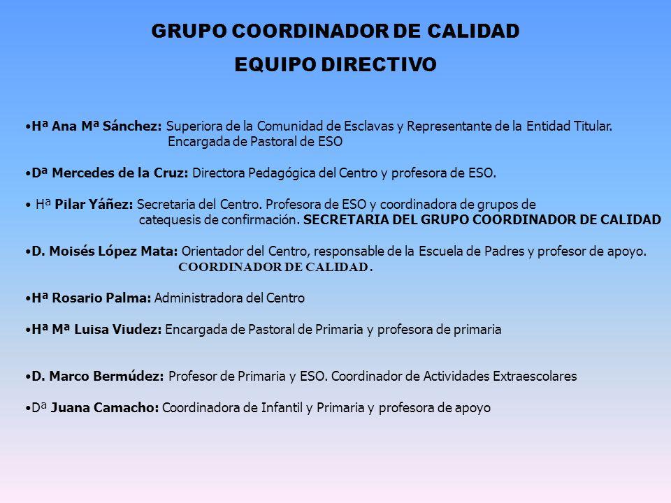 GRUPO COORDINADOR DE CALIDAD