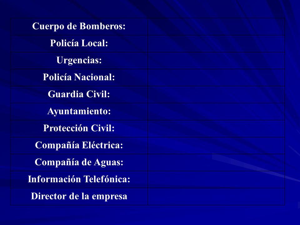 Información Telefónica: