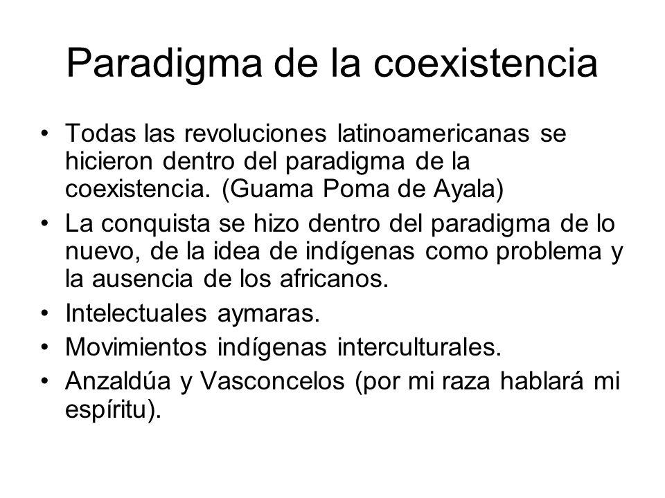 Paradigma de la coexistencia