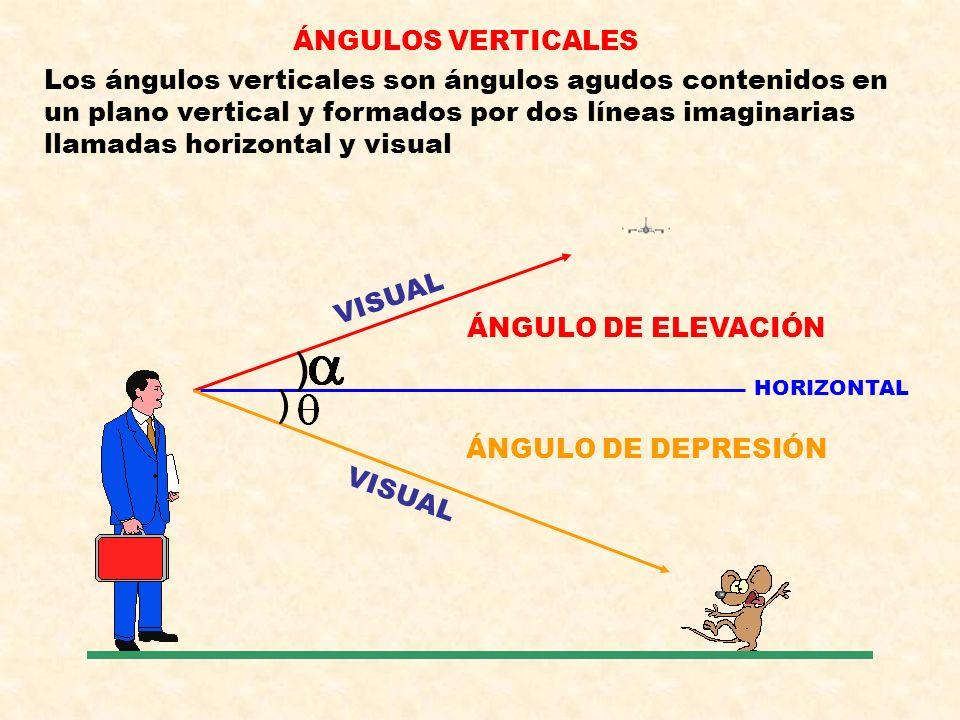 ÁNGULOS VERTICALES