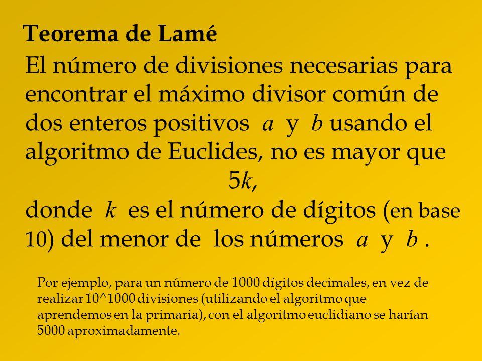 Teorema de Lamé