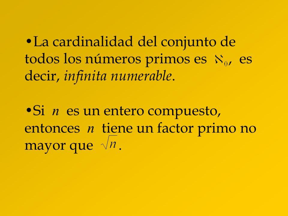 Demostración de Euclides: