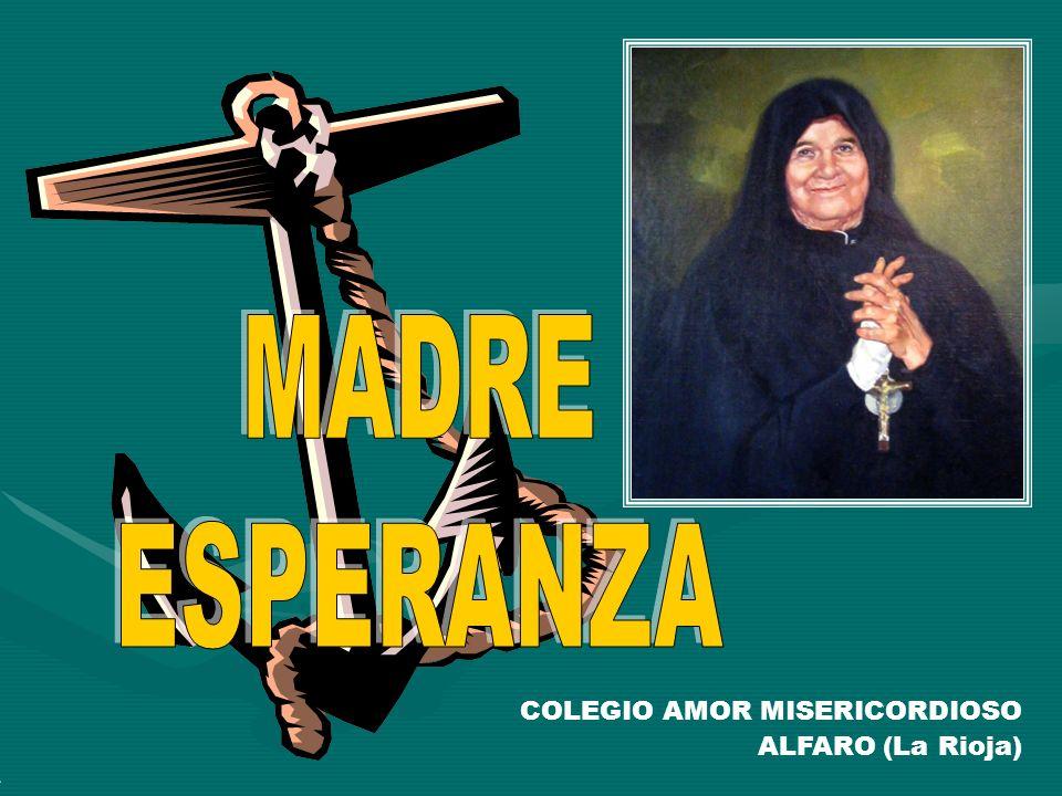 MADRE ESPERANZA COLEGIO AMOR MISERICORDIOSO ALFARO (La Rioja)