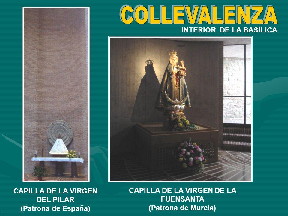 COLLEVALENZA INTERIOR DE LA BASÍLICA