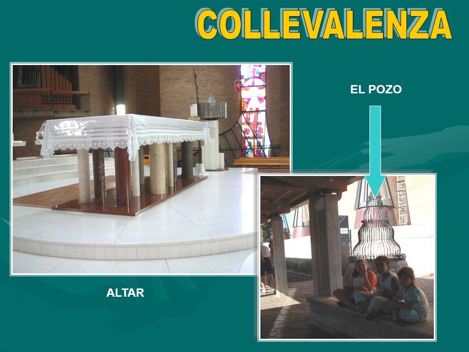 COLLEVALENZA EL POZO ALTAR