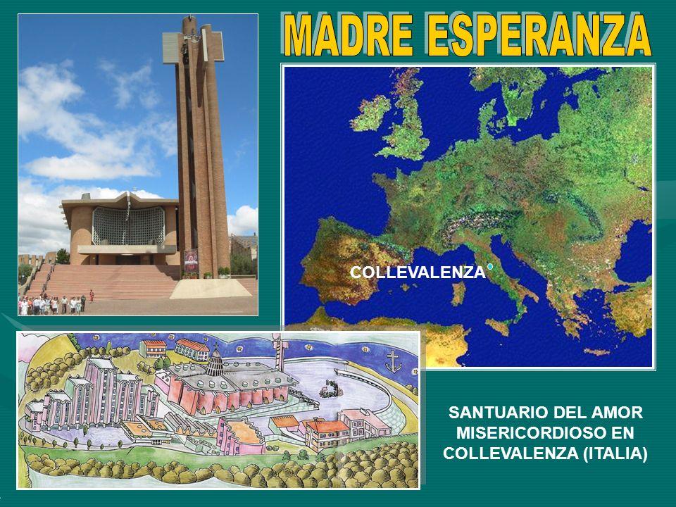 SANTUARIO DEL AMOR MISERICORDIOSO EN COLLEVALENZA (ITALIA)
