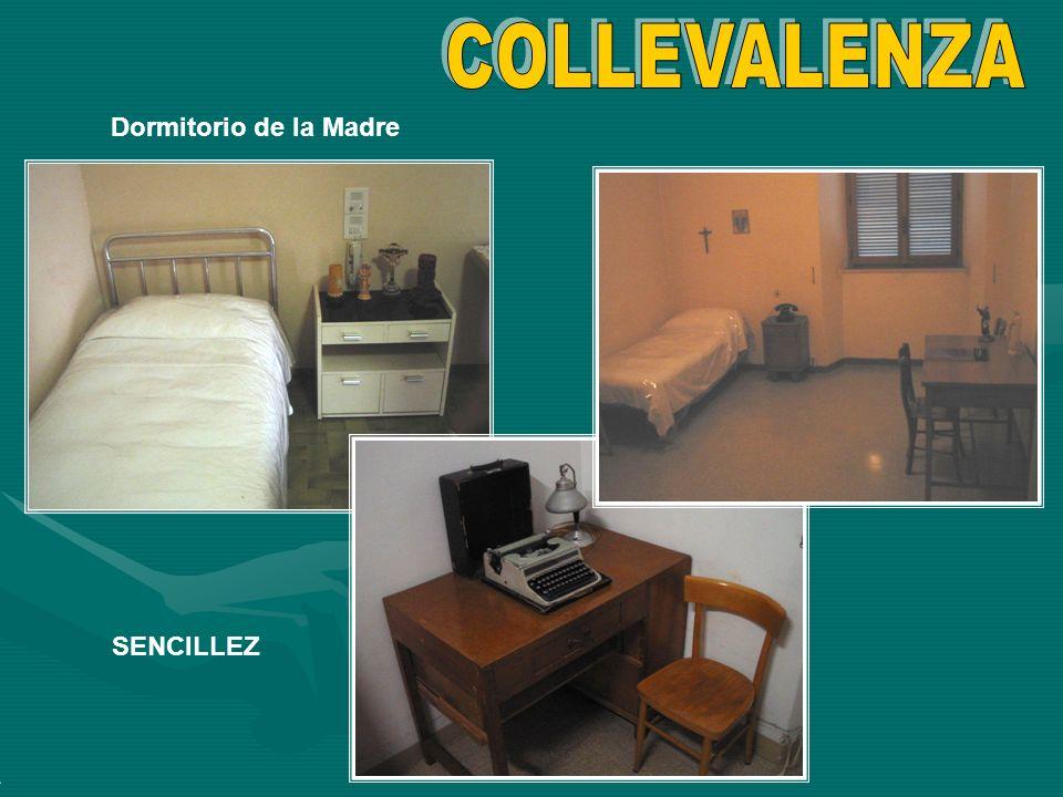 COLLEVALENZA Dormitorio de la Madre SENCILLEZ