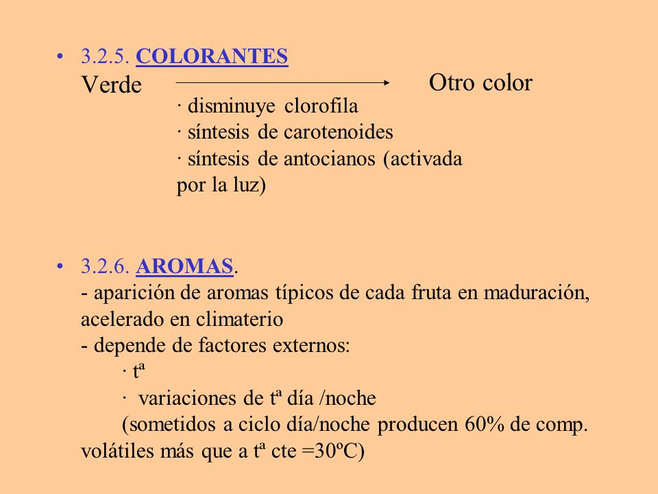 Otro color 3.2.5. COLORANTES Verde