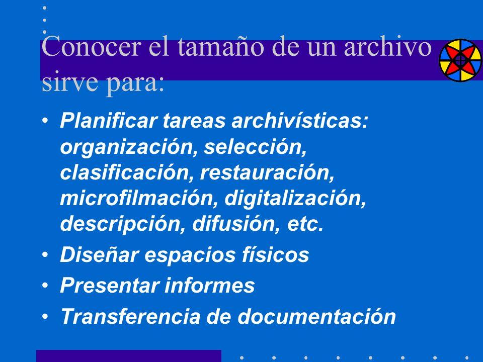 Conocer el tamaño de un archivo sirve para: