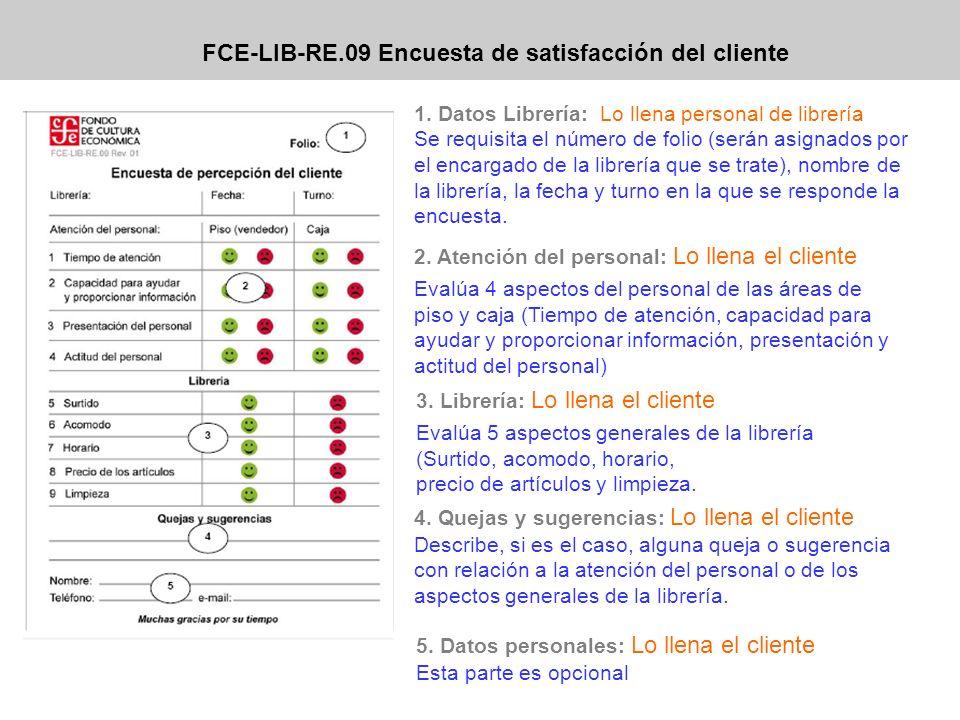 FCE-LIB-RE.09 Encuesta de satisfacción del cliente