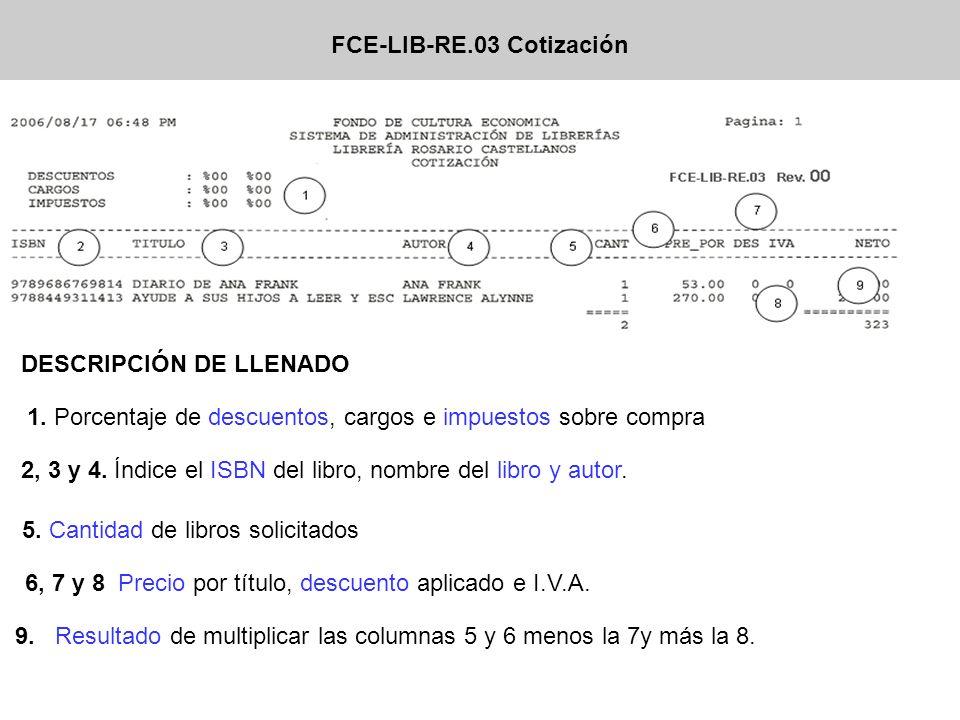 FCE-LIB-RE.03 Cotización