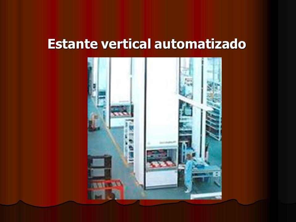 Estante vertical automatizado