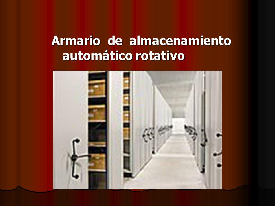Armario de almacenamiento automático rotativo