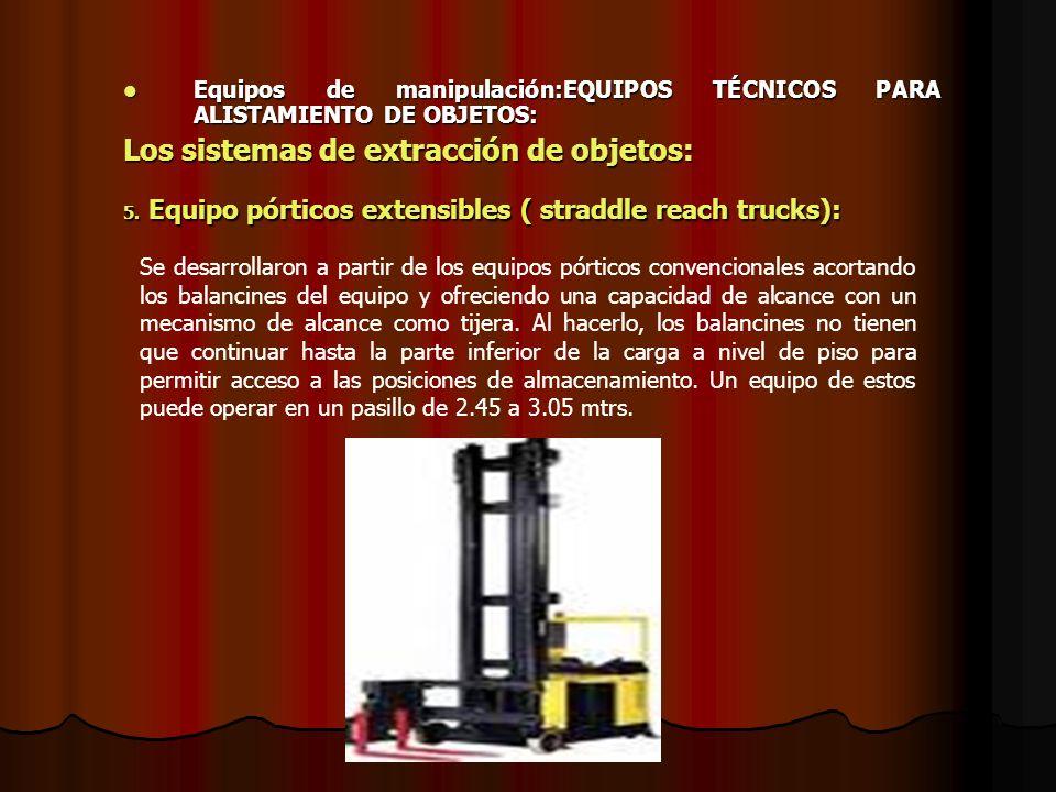 Los sistemas de extracción de objetos: